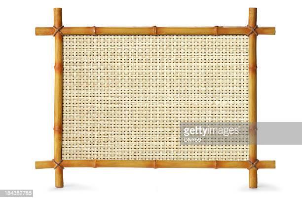 Bambus-Schild