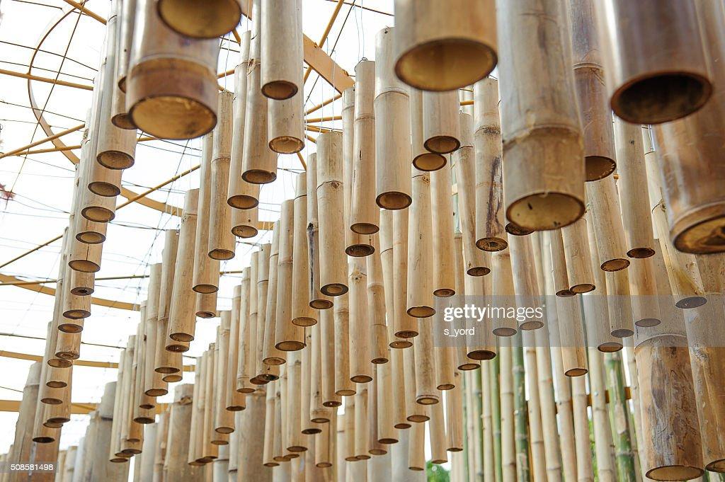 Bambus-tube der Kunst : Stock-Foto