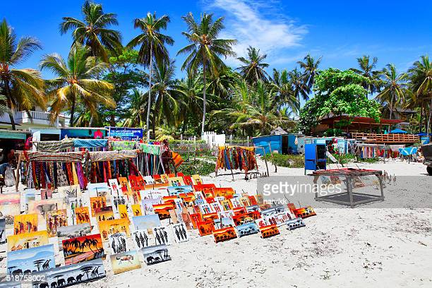 Bamburi Beach in Kenya