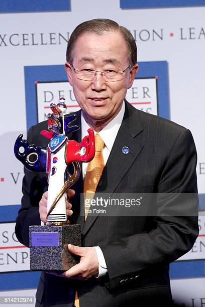 Ban KiMoon during the German Media Award 2016 on March 07 2016 in BadenBaden Germany