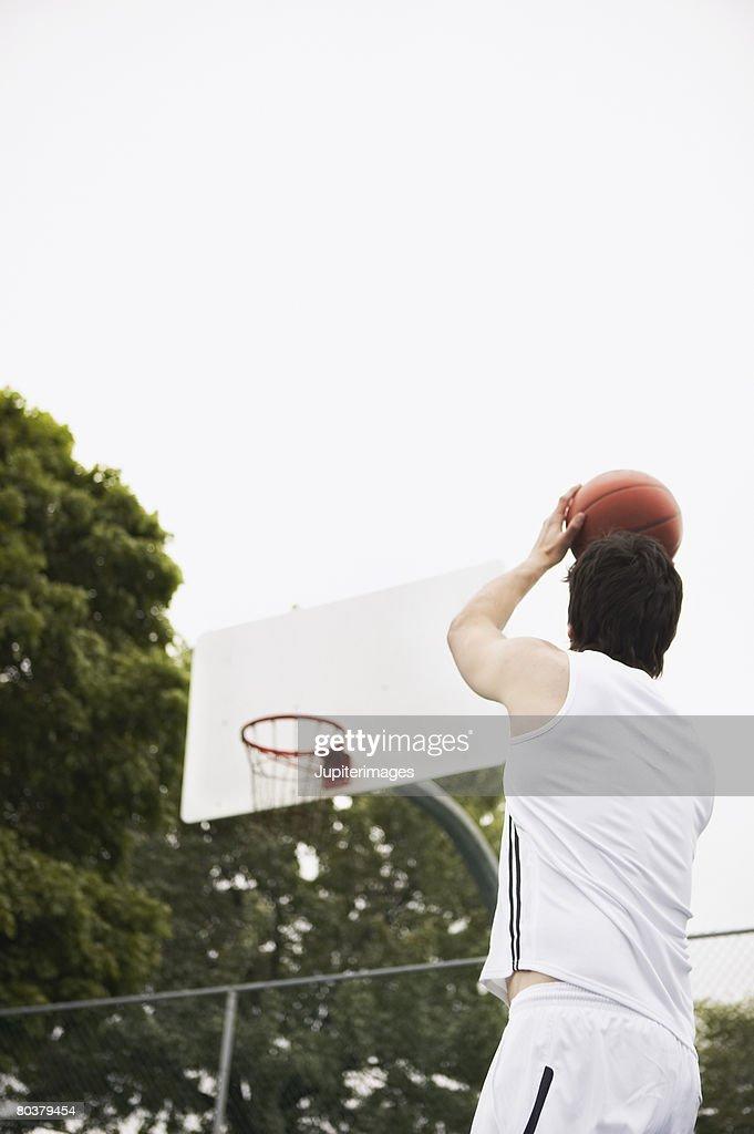 Ban shooting basketball : Stock Photo