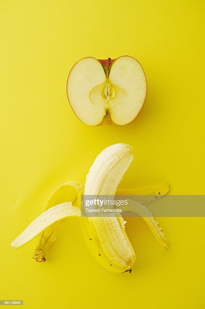 banana and apple