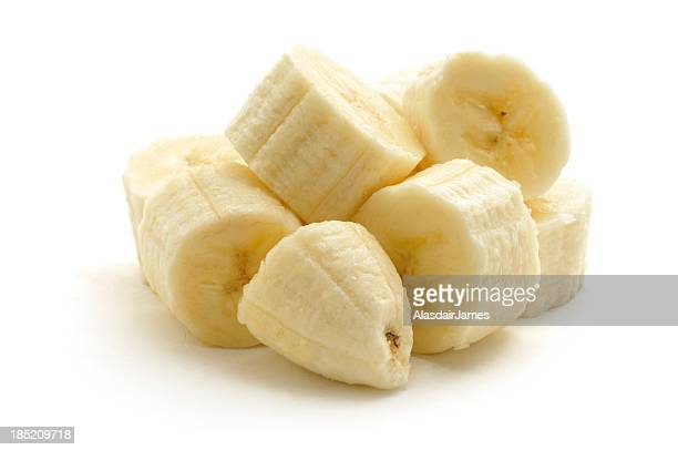 Banana chopped