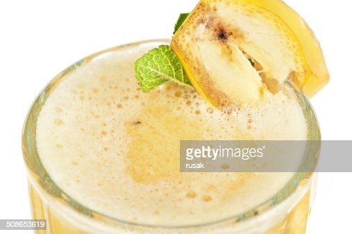 banana cocktail : Stock Photo