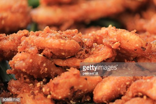 Banana fried : Stock Photo