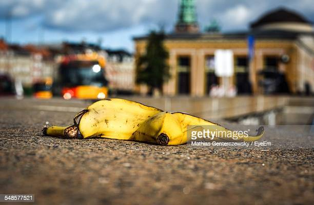 Banana Peel On Street
