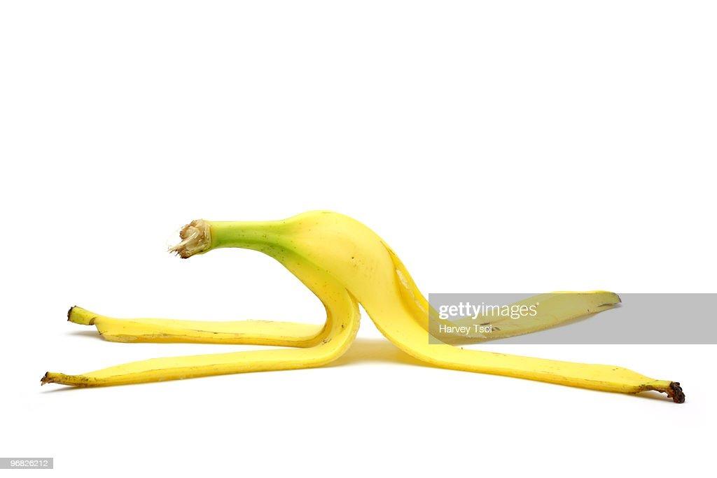 Banana Peel : Foto de stock