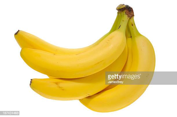 Bananas With Clipping Path