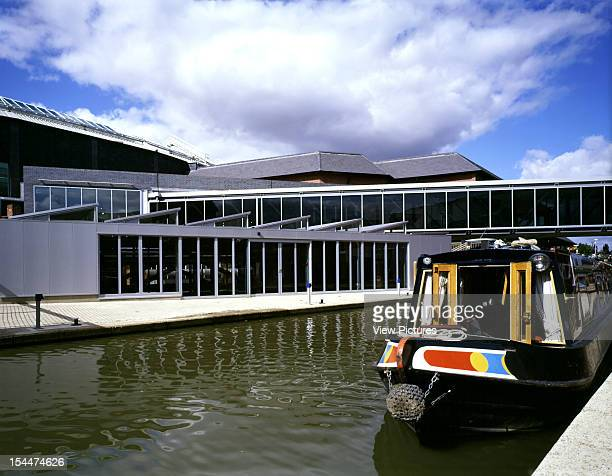 Banbury Museum Banbury United Kingdom Architect Ecd Architects Banbury Museum Dry Dock And Bridge