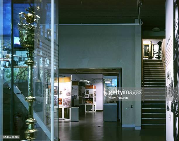 Banbury Museum Banbury United Kingdom Architect Ecd Architects Banbury Museum Lower Gallery To Stair