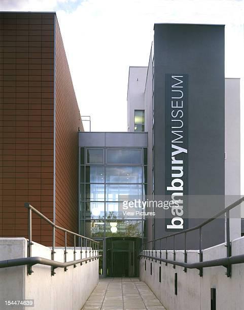Banbury Museum Banbury United Kingdom Architect Ecd Architects Banbury Museum View Up To Main Entrance