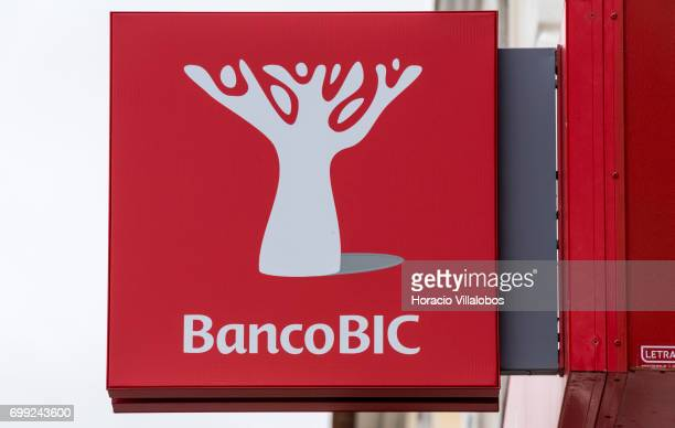 Banco BIC logo is displayed on June 21 2017 in Estoril Portugal Lisbon Court of Appeal has ruled against BIC Portugal in an action brought by BiG...