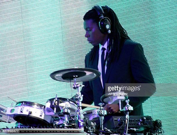 Band Drummer during BlackBook Magazine and Island Def Jam Present UTADA at SkyLight Studios in New York City New York United States