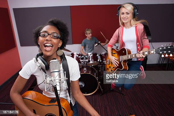 バンドに録音スタジオ