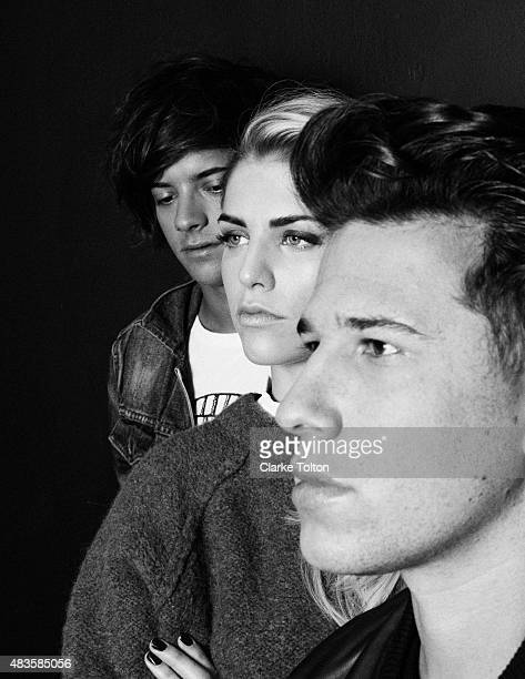Band London Grammar is photographed for Nylon Magazine on October 5 2013 in New York City