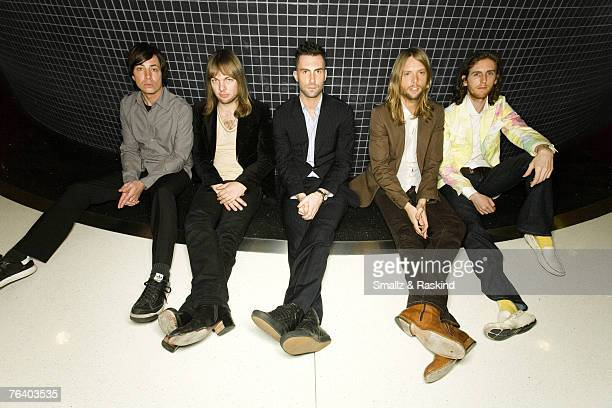 Maroon 5 Maroon 5 by Smallz Raskind Maroon 5 Sessions at AOL May 1 2007 Beverly Hills California