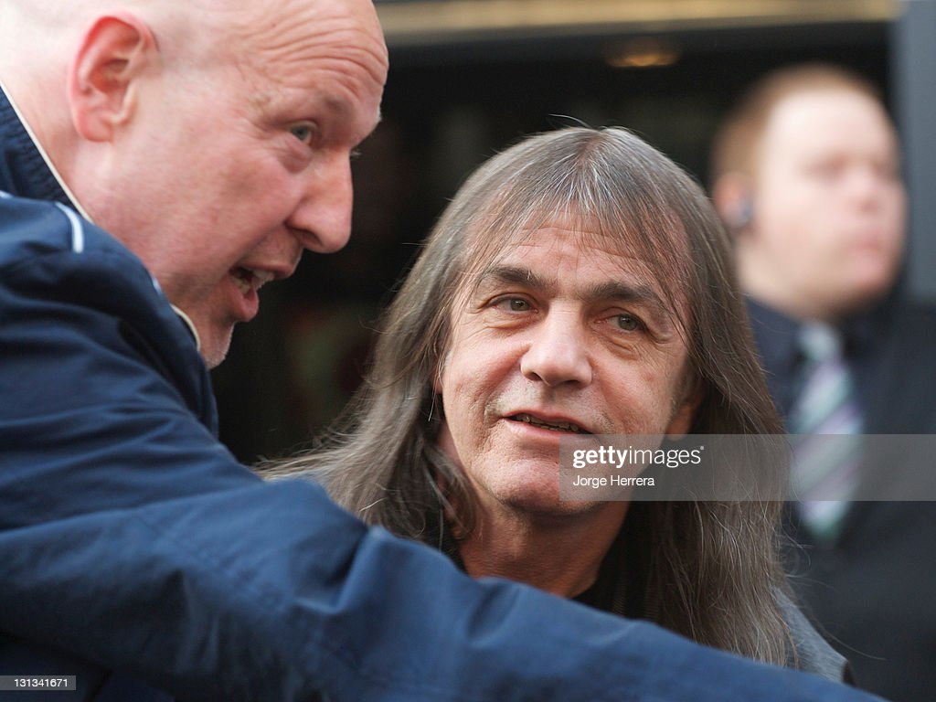 AC/DC band member Malcolm Young attends the Exclusive World Premiere Of AC/DC 'Live At River Plate' Presented By DeLeon Tequila at the HMV Apolo on May 6, 2011 in London, England.
