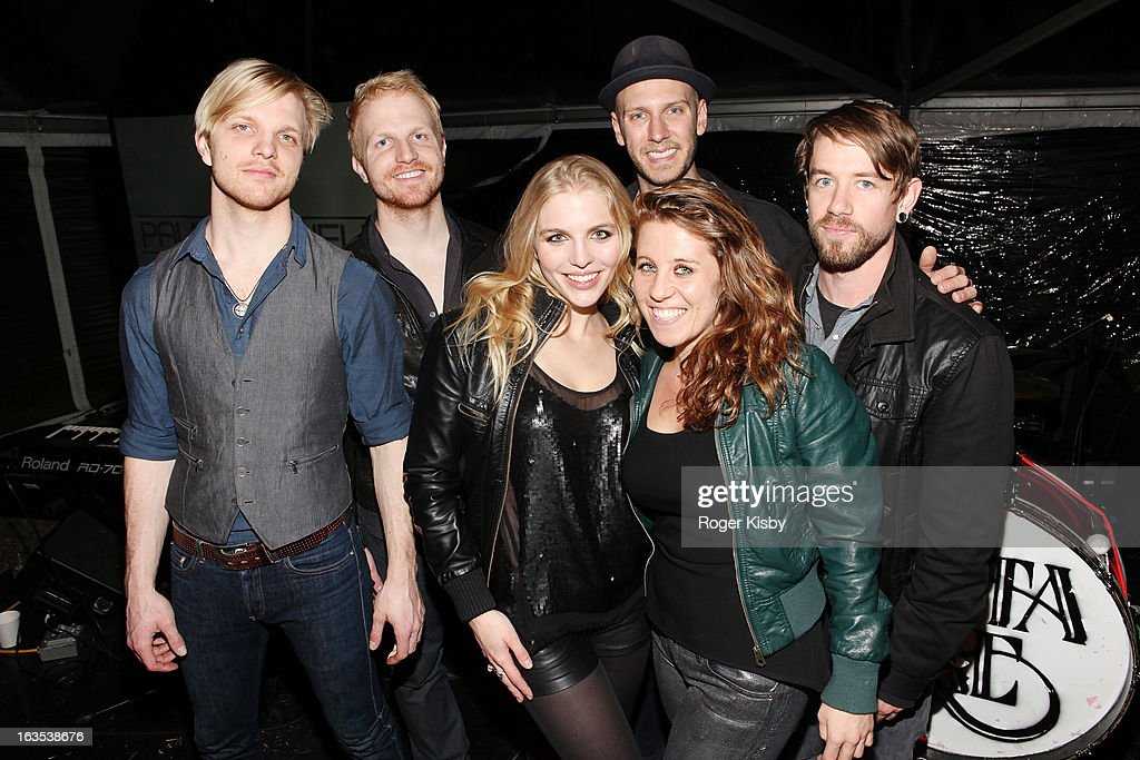 Band members of Delta Rae attend Forbes' '30 Under 30' SXSW Private Party on March 11, 2013 in Austin, Texas.