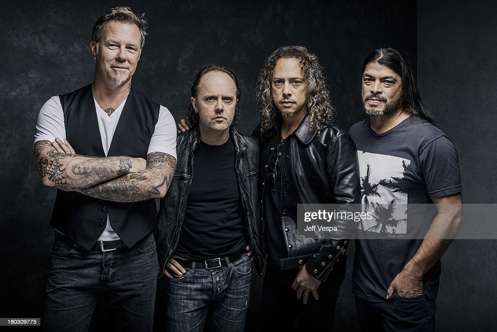 Band Metallica is photographed at the Toronto Film Festival on September 9, 2013 in Toronto, Ontario.