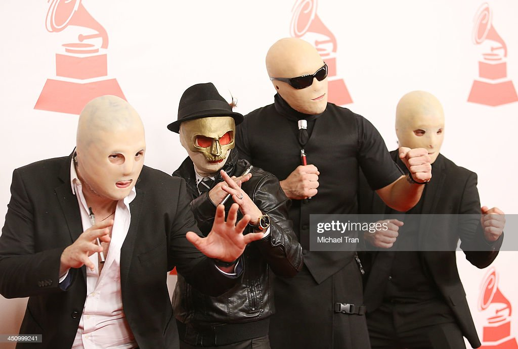 A Band of Bitches arrive at the 2013 Latin Recording Academy Person of the Year honoring Miguel Bose held at Mandalay Bay Resort and Casino on November 20, 2013 in Las Vegas, Nevada.