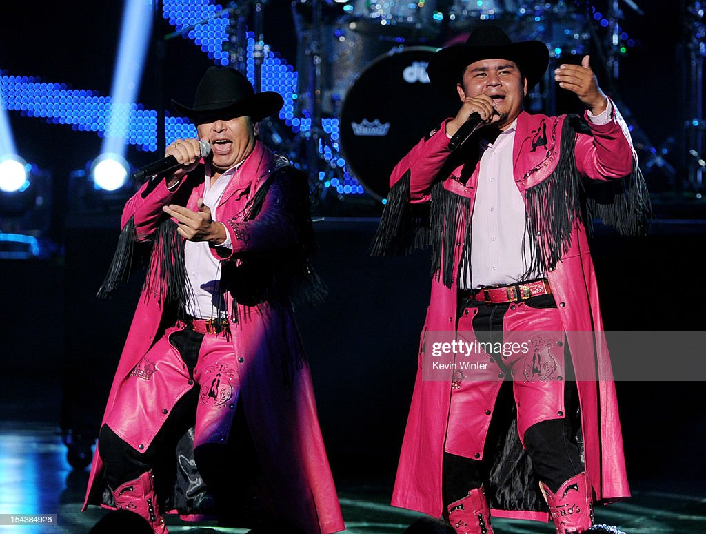 Banda Machos performs at the Billboard Mexican Music Awards presented by State Farm on October 18, 2012 in Los Angeles, California.