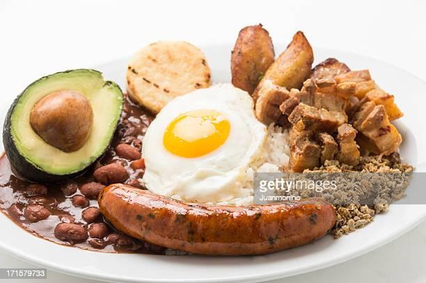 Bandeja Paisa (comida da Colômbia