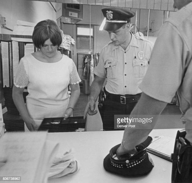 Bandit Took All Cash From Drawer Miss Joella Kayton of 1606 S Stuart St tells Sgt C D Dressel how a bandit took $50 to $75 from cash drawer from...