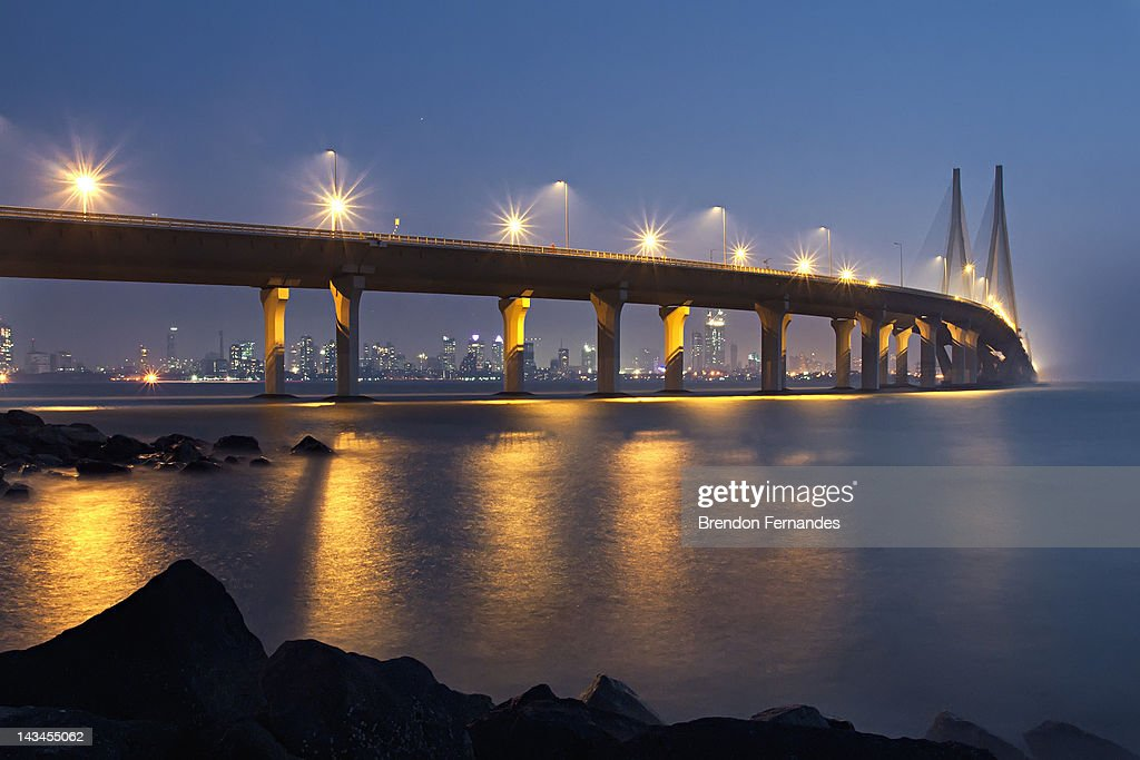 Bandra-Worli Sea Link : Stock Photo