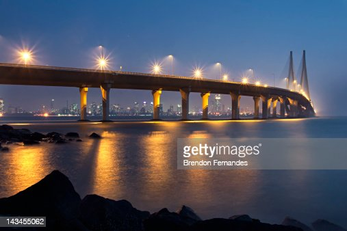 Bandra-Worli Sea Link : Stock Photo