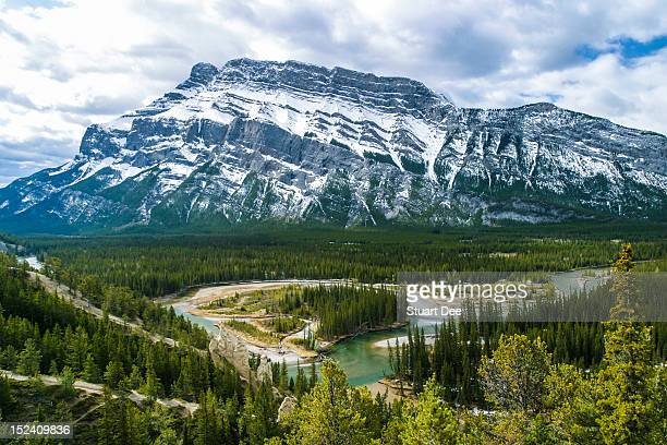 Banff Hoodoos Viewpoint, Banff, Alberta, Canada