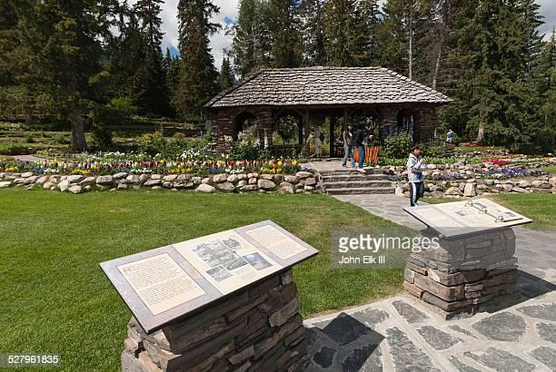 Banff town, Cascade Garden