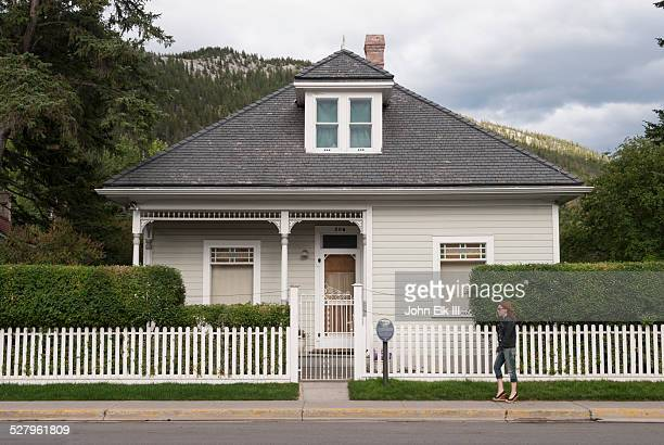 Banff town, historic Luxton residence