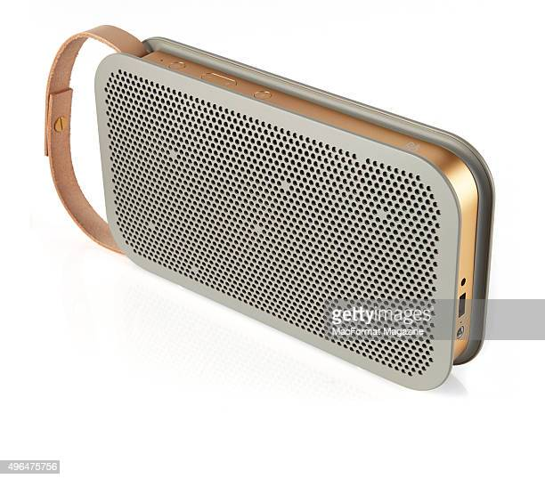 A Bang And Olufsen BeoPlay A2 bluetooth speaker taken on January 26 2015