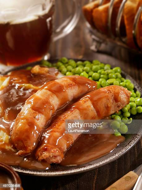 Bangers, Mash and a Beer