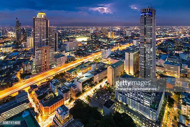 Bangkok before rain