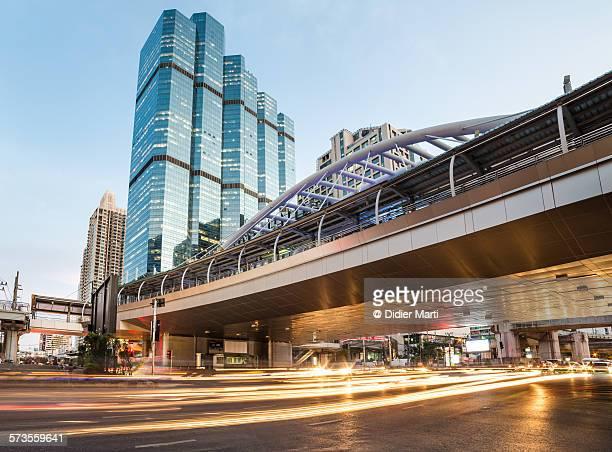 Bangkok business district