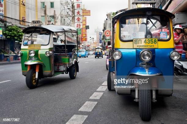 Bangkok Chinatown Tuktuks