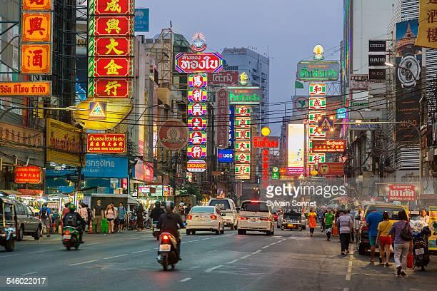 Bangkok, Chinatown, Yaowarat road