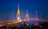 Bangkok City At Twilight, THAILAND
