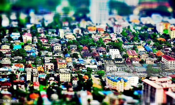 Bangkok city from above