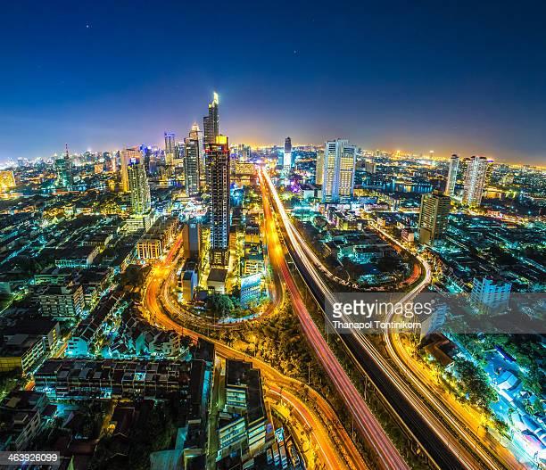 Bangkok Cityscape Skyline