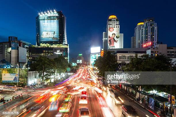 Bangkok crazy night rush