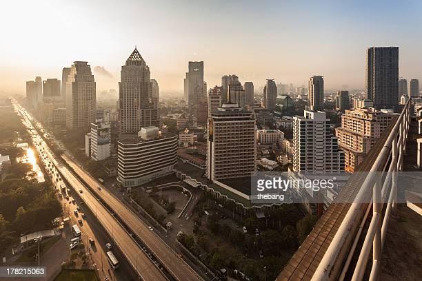Bangkok morning vie