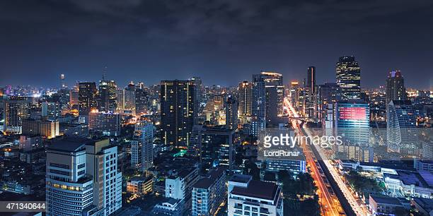 Bangkok night view