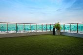 Bangkok Rooftop, interior and exterior.