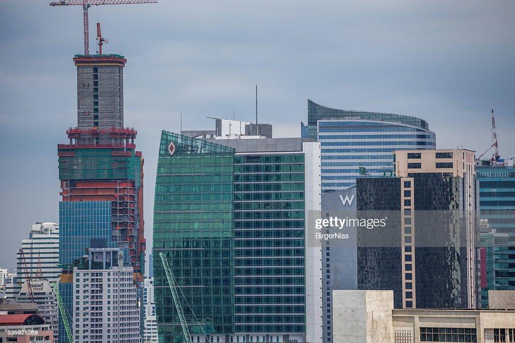 Bangkok skyline, Thailand : Stock Photo