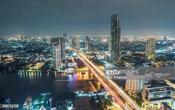 Bangkok the capital city of Thailand.