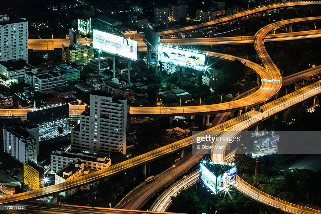 Bangkok veins : Stock Photo