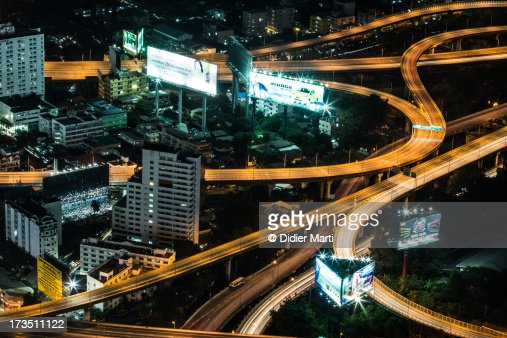 Bangkok veins : Stock Photo