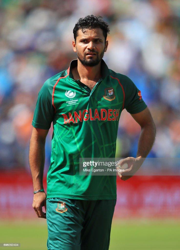 Bangladesh v India - ICC Champions Trophy - Semi-Final - Edgbaston : News Photo